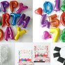 【3COINS】誕生日をおしゃれにデコレーション!装飾グッズ5選