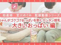動画で簡単!赤ちゃんがゴクゴク飲む授乳テクー大きいおっぱい編ー