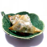 【離乳食完了期】筍と豆苗の春巻き