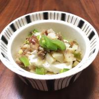 【離乳食完了期】筍と豆腐のおかか煮(土佐煮)