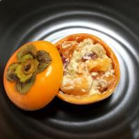 【離乳食後期】柿の白和え