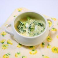 【離乳食後期】ブロッコリーのかき玉煮