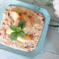 【離乳食中期】トマトクリームオートミール