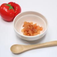 【離乳食中期】トマトのおかかあえ