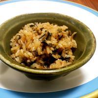 【離乳食完了期】生海苔としらすの炊き込みご飯