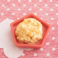 【離乳食完了期】にんじん豆腐のふんわり卵