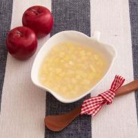 【離乳食後期】りんごとオートミールのコンポート