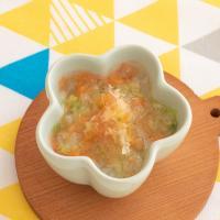 【離乳食中期】白菜と大根の煮物