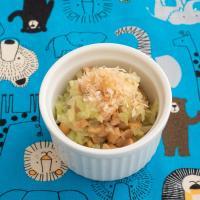 【離乳食中期】キャベツと納豆のおかか和え