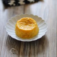 【離乳食中期】レンジで簡単かぼちゃのプリン