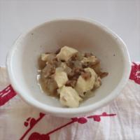 【離乳食後期】肉豆腐