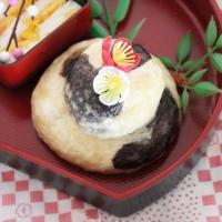 【離乳食完了期】お正月♡牛柄鏡餅風中華饅頭