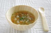 【離乳食完了期】コロコロ野菜のコンソメ仕立