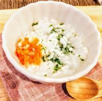 【離乳食後期】青のりと野菜のおじや風