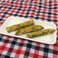 【離乳食完了期】納豆と野菜のおやき