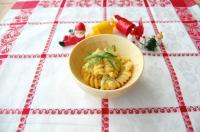 【離乳食完了期】野菜と魚のカルボナーラ