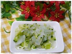 離乳食後期 大根とブロッコリーの煮物