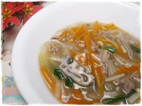 離乳食完了期 根菜入りの和の八宝菜