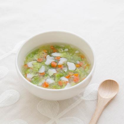 【離乳食中期】たらと白菜の煮込み鍋