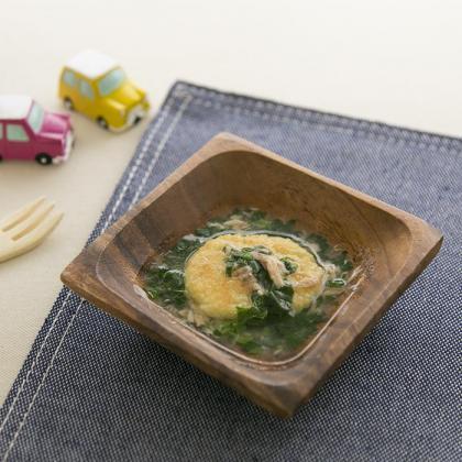 【離乳食後期】豆腐ステーキ