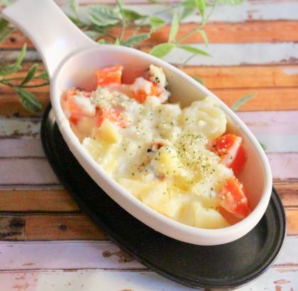【離乳食完了期】ジャガイモの米粉グラタン