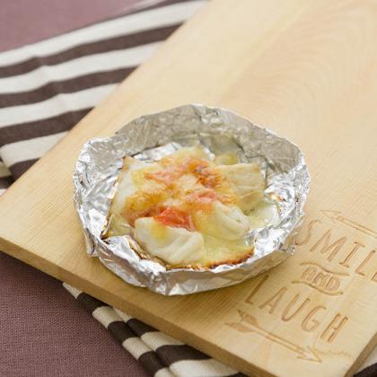 【離乳食完了期】鯛のプチホイル焼き