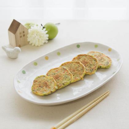 【離乳食完了期】ふわふわキャベツのお好み焼き