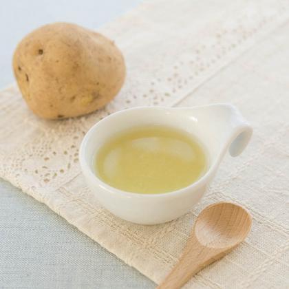 【離乳食初期】トロっとしたポテトのスープ