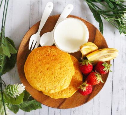 【離乳食完了期】おからのパンケーキ