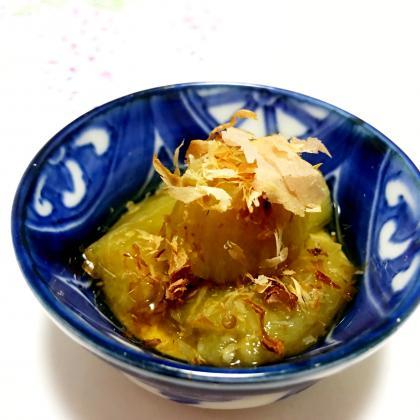 【離乳食後期】焼き茄子の煮浸し