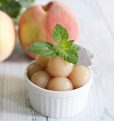 【離乳食後期】白桃ゼリー