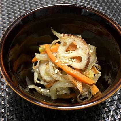 【離乳食完了期】根菜きんぴら
