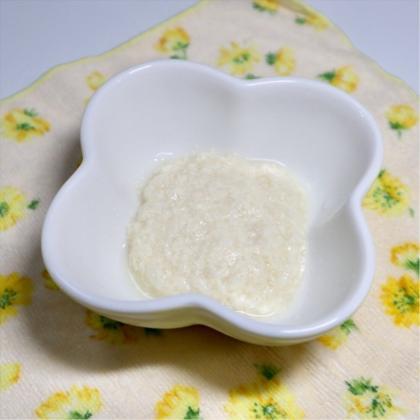 【離乳食初期】かぶと豆腐のとろとろ