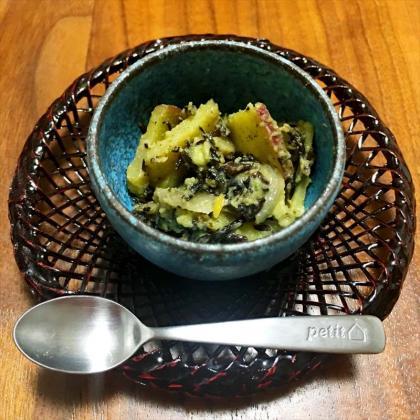 【離乳食完了期】ひじきとさつまいもの練り胡麻サラダ