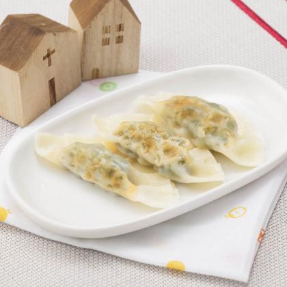 【離乳食完了期】小松菜ぎょうざ