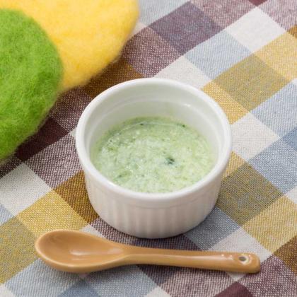 【離乳食初期】ほうれん草のミルクポタージュ