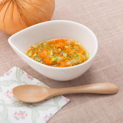【離乳食中期】カラフル野菜のだし煮