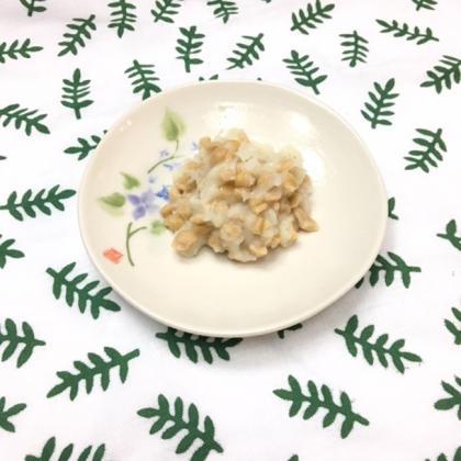 【離乳食中期】納豆ポテト