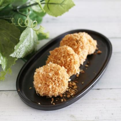 【離乳食完了期】野菜入り鶏肉のメンチカツ風