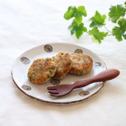 【離乳食完了期】お魚ハンバーグ