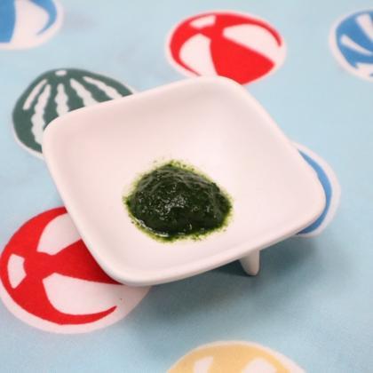 【離乳食初期】小松菜ペースト