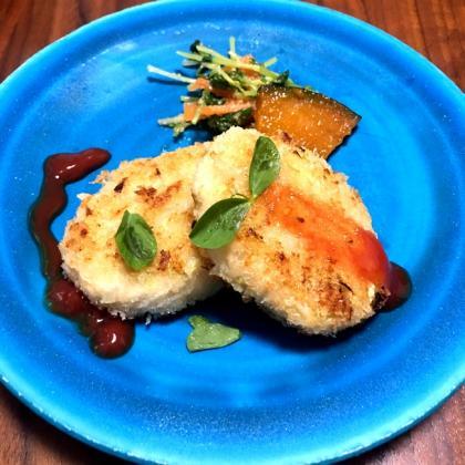 【離乳食完了期】キャベツと鶏ひき肉の焼きメンチ