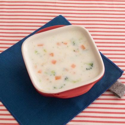 【離乳食中期】野菜のミルクシチュー