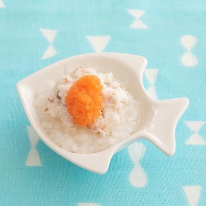 【離乳食中期】鯛そぼろのおかゆ