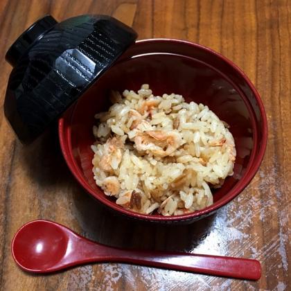 【離乳食完了期】桜えびの炊き込みご飯