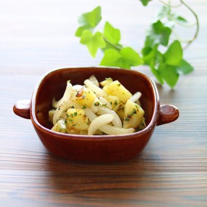 【離乳食後期】青のりと粉チーズのジャーマンポテト