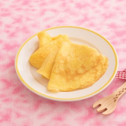 【離乳食完了期】にんじんパンケーキ クレープ風