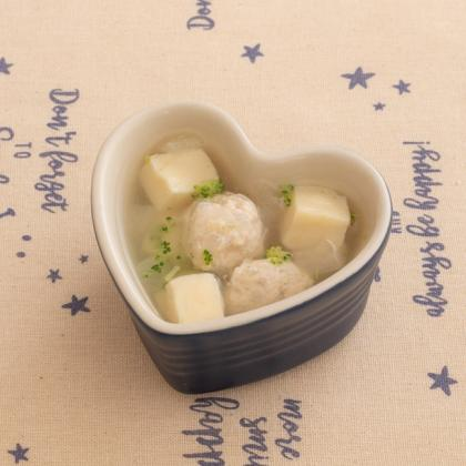 【離乳食】冬瓜と鶏団子のスープ