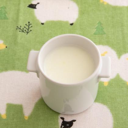 【離乳食後期】そら豆のミルクスープ