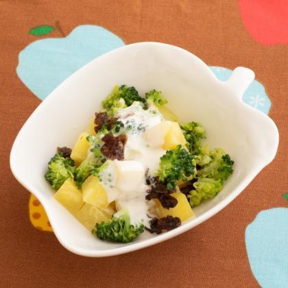 【離乳食後期】さつまいものヨーグルトサラダ